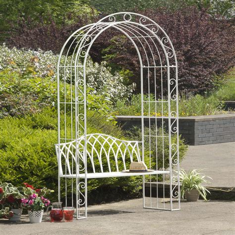 Garden Arch Bench Uk Arbour Seat Shop For Cheap Sheds Garden Furniture And