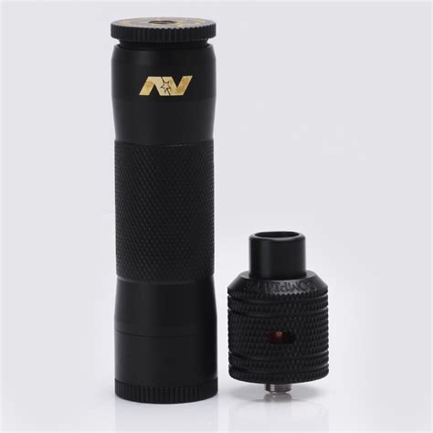 Paket Ngebul Mechanical Av Lyfe Mod Kit Rda Druga Lg Charger Liquif av avid lyfe m1p5 style black mechanical mod mini battle style rda kit