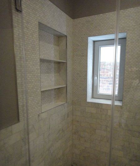 recessed shower shelves bathroom ideas
