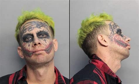 police miami joker 29 arrested for carrying a concealed