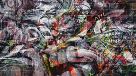 graffiti wall chromebook wallpaper ready