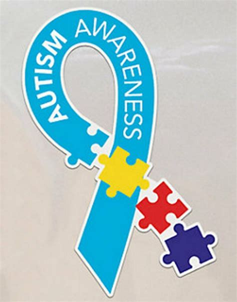 autism awareness colors autism awareness multi color puzzle car magnet new