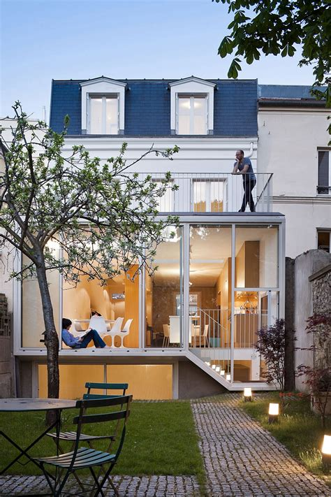 modern contemporary houses traditional french house in vincennes gets a sparkling