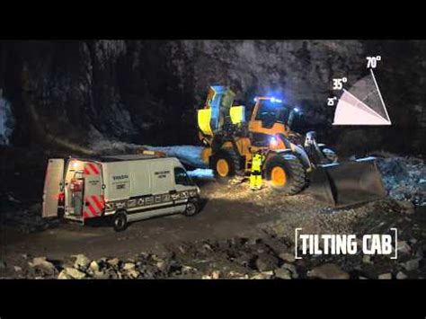 volvo construction equipment wheel loaders lh lh tilting cab youtube
