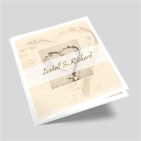Hochzeitskarten Mit Foto by Foto Hochzeitskarte Sandherz