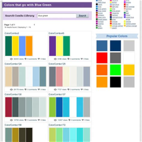 website colour combinations 5 tools for choosing a website color scheme kate hash