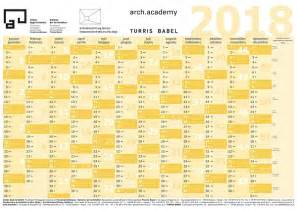 Kalender 2018 Edit Kalender Kammer Der Architekten Rld
