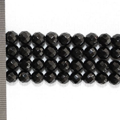 faceted onyx onyx faceted 6mm ilona biggins pearls
