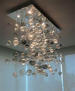 Glass Bubble Light Chandelier Bubbles Blown Glass Chandelier Artisan Crafted Lighting
