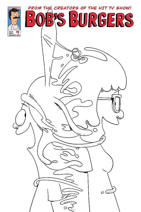 bob s burgers coloring book books preview of bob s burgers 1 dynamite