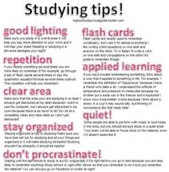 how to better in school studying tips for high school students students studying