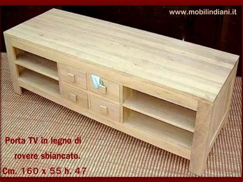 mobile rovere sbiancato foto porta tv rovere sbiancato de mobili etnici 113768