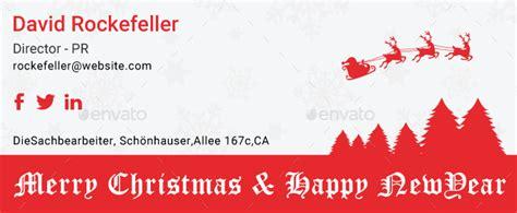 christmas email signature psd  dotgains graphicriver