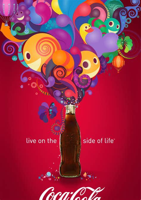 color ad coke
