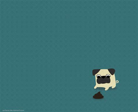 pug pooping pug by surlana on deviantart