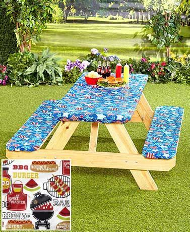 picnic tablecloth and bench covers best 25 picnic table covers ideas on pinterest