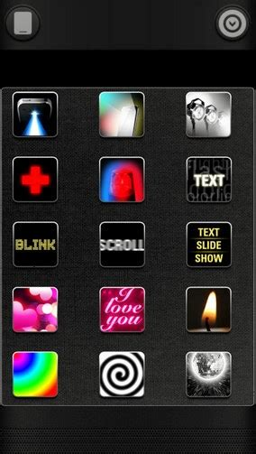 color flashlight app color flashlight hd led for android free app