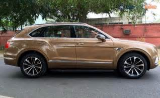 Bentley At Bentley Bentayga Launched In India Prices Starts At Rs 3