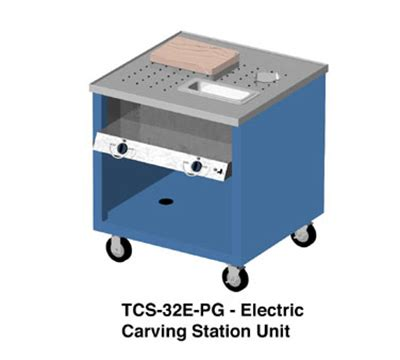 carving station heat l duke tcs 32e ss 2401 mobile carving station w 2 heat