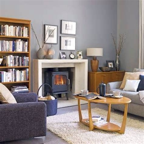 Living Room Ideas With Log Burners by
