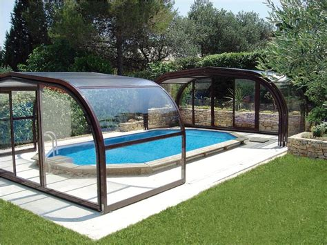 Enclosed Backyard Pools 25 Best Ideas About Pool Enclosures On