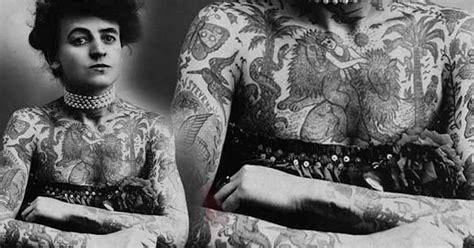 maud wagner the first american female tattoo artist