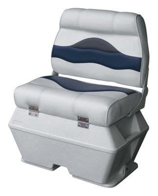 wise premium pontoon boat seats wise premium pontoon boat double captains seat with cooler