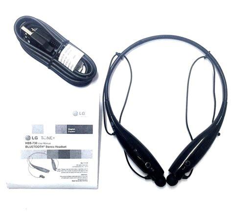 Lg Tone Bluetooth Earphone Headset Hbs 730 Limited new lg tone plus hbs 730 wireless bluetooth stereo