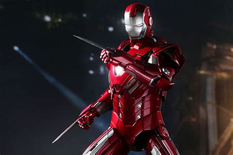Toys Ironman 9 Special Edition New Last Stock iron 3 mms213 silver centurion xxxiii 1 6th scale collectible figure