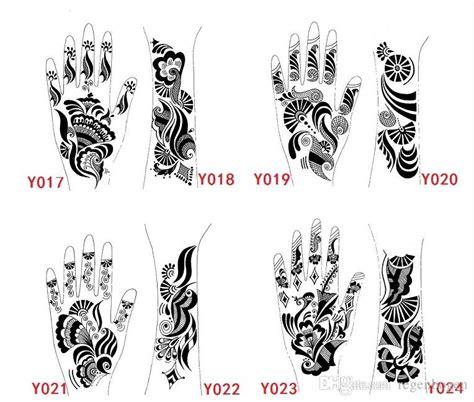 where can you get henna tattoo kits mehndi henna stencil large black henna for