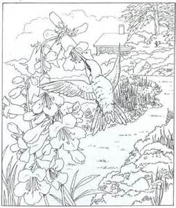 Galerry coloring pages for adults nature