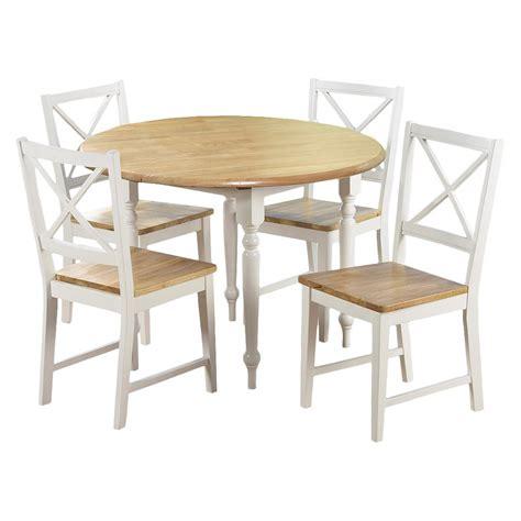 target dining room set  piece virginia dining set white