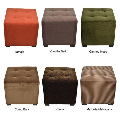 Ottoman Deals Merton 4 Button Tufted Square Ottoman Great Deals Olives And Shopping