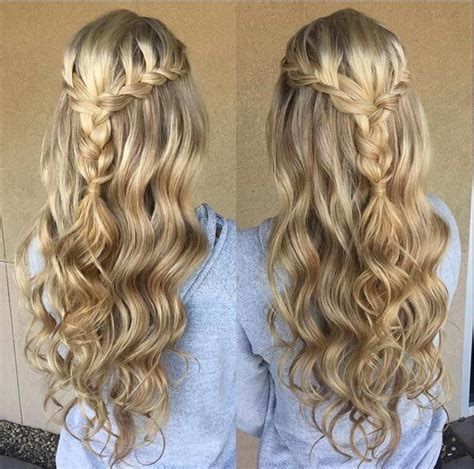 Half Up Half Hairstyles For Prom by Braided Half Up Hairstyles For Prom Hairstyles