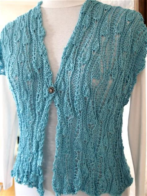 knitting pattern for waistcoat vineyard vest by knitchicgrace craftsy
