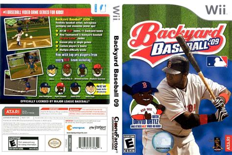 backyard baseball wii backyard baseball 09 wii 400 00 en mercado libre gogo papa