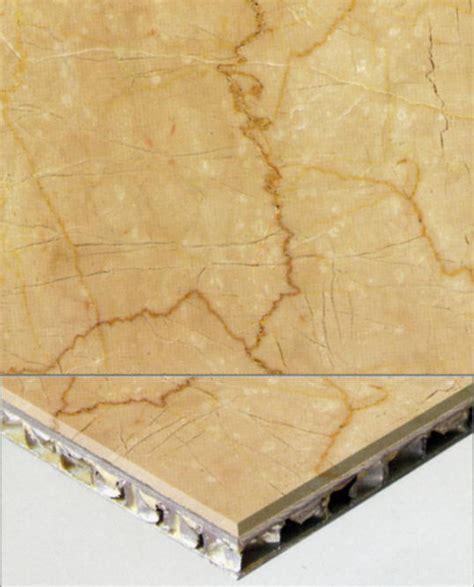 Marble aluminium honeycomb composite stone tiles slabs