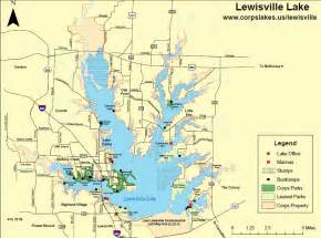 map lake lewisville