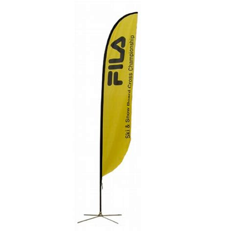 feather outdoor banner flag stand franchise print shop