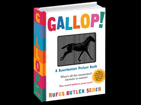 gallop a scanimation picture book gallop scanimation book