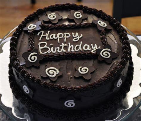 chocolate happy birthday cake images pictures   happy birthday