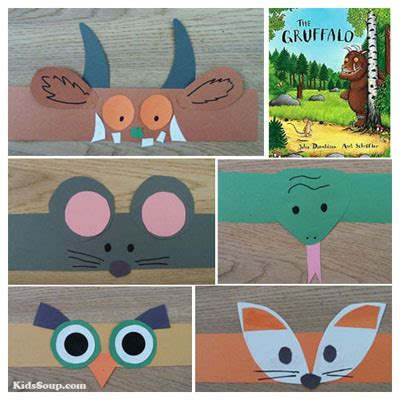 The Gruffalo Preschool Activities And Crafts Kidssoup