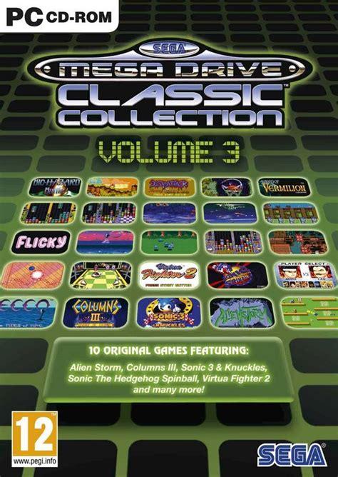 sega genesis classics collection sega genesis classics pack 3 box for pc gamefaqs