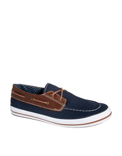 boat shoes asos asos boat shoes in canvas shoes to die for p