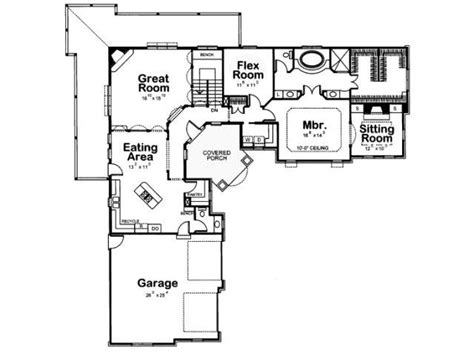 25 best ideas about l shaped house on pinterest l shaped ranch house plans new best 25 l shaped house