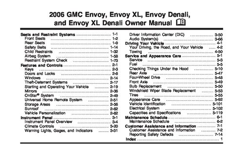 2007 gmc envoy owner s manual 2006 gmc envoy owners manual just give me the damn manual