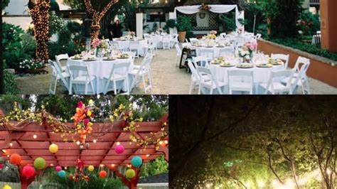 modern backyard backyard wedding ideas for summer on a