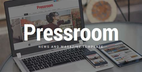 press room menu pressroom responsive news and magazine template by quanticalabs themeforest