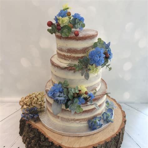 Blue Flower Wedding Cake by Blue Flower Wedding Cakes Www Pixshark Images