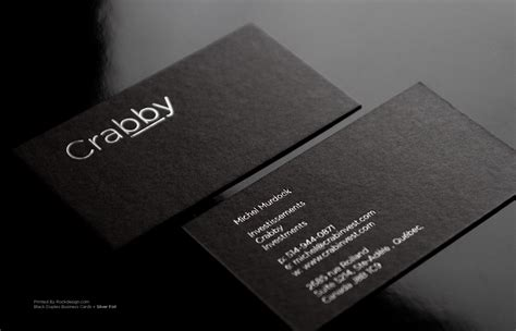 Create A Gift Card For Your Business - black business cards lilbibby com